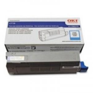 Oki C711 Toner Cart Cyan 44318607