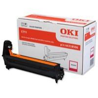 OKI Laser Drum Unit Page Life 20000pp Magenta Ref 44318506