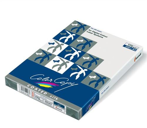 Color Copy Paper Coated Silk White FSC4 A4 210x297mm 170gm Pack 250