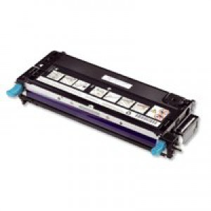 Dell 3130 Standard Capacity Cyan Toner Cartridge 3K Code 593-10294
