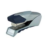 Rexel Gazelle Stapler Half Strip Throat 50mm Silver and Blue Ref 2100011