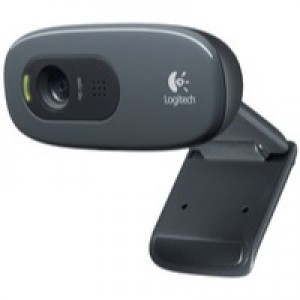 Logitech C270 High Definition WebCam Black 960-000582