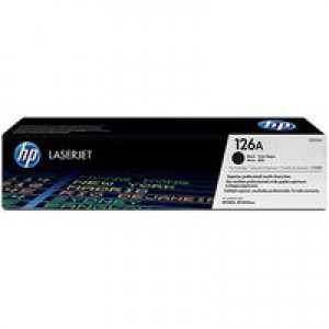 HP No.126A Laser Toner Cartridge Page Yield 1200pp Black Code CE310A