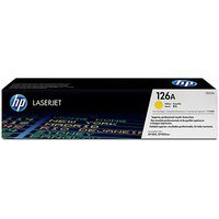 HP No.126A Laser Toner Cartridge Yellow Code CE312A