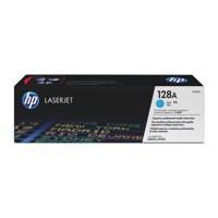 HP No.128A Laser Toner Cartridge Cyan Code CE321A