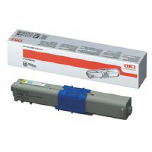 Oki C310/330/510/530 Yellow Toner Cartridge 2K Code 44469704