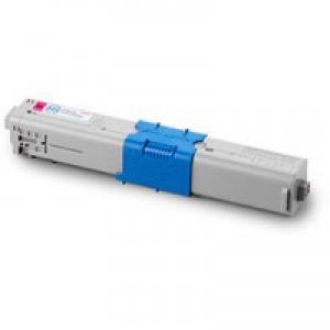 Oki 510/530 Magenta Toner Cartridge High Capacity 5K Code 44469723