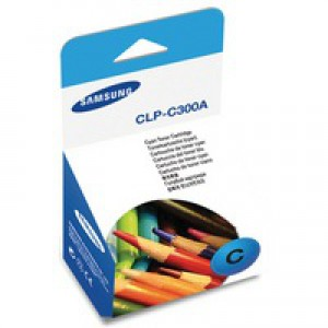 Samsung Laser Toner Cartridge Page Life 1000pp Cyan Ref CLP-C300A-ELS