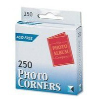 Photo Corners Self Adhesive Vinyl Clear [Pack 250]