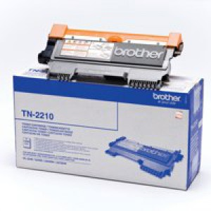 Brother Laser Toner Cartridge Page Life 1200pp Black Ref TN2210