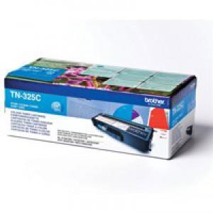 Brother Laser Toner Cartridge Page Life 3500pp Cyan Code TN325C