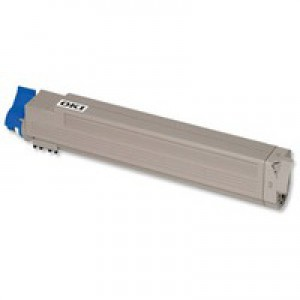 Oki C801/C821 Yellow Toner Cartridge 7.3K Code 44643001