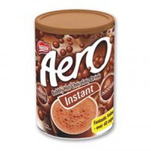 Nestle Aero Hot Chocolate 42 Servings Tub 1kg Code A02765