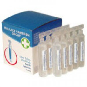 Wallace Cameron Saline Eyepods 20ml Ref 2404061 [Pack 25]