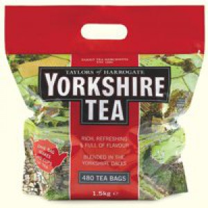 Yorkshire Tea Bags Pack 480 Code A03059
