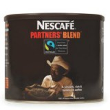 Nestle Partners Blend Instant Coffee from 100 percent Arabica Beans Tin 500g Code A02768