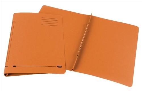 Elba Ashley Flat File 315gsm Capacity 35mm Foolscap Orange Ref 100090283 [Pack 25]