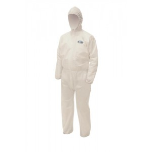 Kleenguard A50 Coverall Breathable SMS Fabric Splash-Resistant Anti-static EN 1149-1 Large Ref 96830