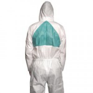 3M Basic Protective Coverall Lightweight Breathable Anti-asbestos EN1073-2 Medium Ref 4520M