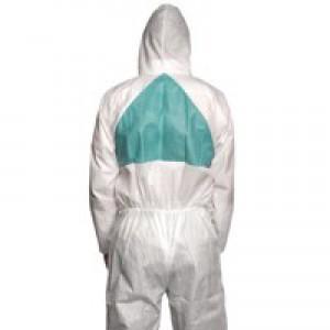 3M Basic Protective Coverall Lightweight Breathable Anti-asbestos EN1073-2 Medium Ref 4520M