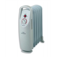 Image for Heatrunner Mini Radiator Oil-filled with Thermostat for 5m.sq 500W W132xD130xH385mm Ref NY5P-6