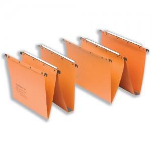 Elba Ultimate A20 Suspension File Manilla V-Base Foolscap Orange Ref 100330312 [Pack 25]