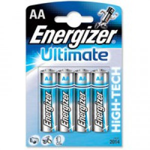 Energizer HighTech Battery Alkaline LR06 1.5V AA Ref 637446 [Pack 4]
