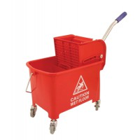 Image for 20ltr Mobl with Casters Mop Buck Red