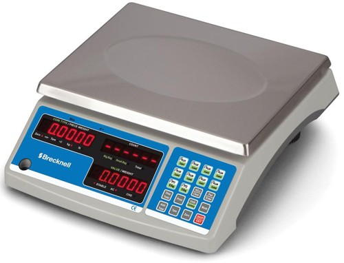 Salter B140 Count and Weigh Scale Accumulate and Count Red LED 6kg 1g Increments