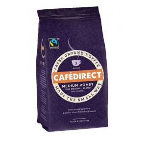 Cafe Direct Filter Coffee Fairtrade Medium Roast Smooth 227g Ref A06728