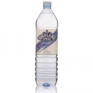 Highland Spring Water Still in Plastic Bottle 1.5 Litre Ref A01057 [Pack 12]