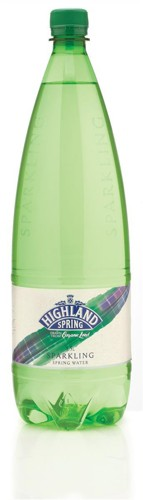 Highland Spring Natural Mineral Water Sparkling in Plastic Bottle 1.5 Litre Code A07229