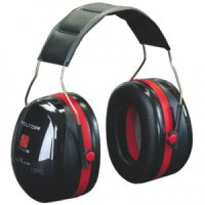 3M 1445 Optime III Headband Ear Muff Defenders High Noise Level Reduction 30dB Code 4540A-411-SV