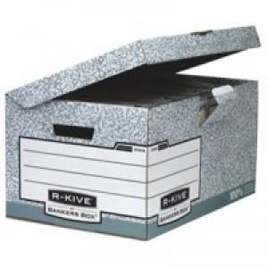 R-Kive System Flip Top Storage Box W378xD545xH287mm Ref 01815 [Pack 10]