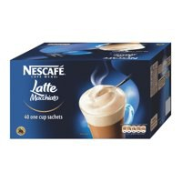 Nescafe Latte Instant Coffee Sachets One Cup Pack 40 Code A02773