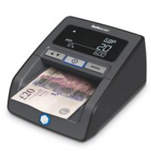 Safescan Auto Counterfeit Detector Infared Magnetic Ink Metal Thread 0.5 second Verification Ref 112-0363