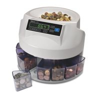 Safescan 1200 GBP Counter and Sorter Automatic 220 Coins/Minute Ref 113-0415