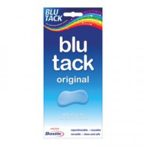 Bostik Blu-tack Mastic Adhesive Non-toxic Economy Pack Code 80108