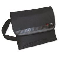 Monolith Stylish Nylon Messenger Bag Black and Grey 2386