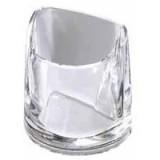 Rexel Nimbus Acrylic Pencil Cup Clear Code 2101502