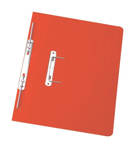 Elba Boston Spiral Transfer Spring File 300 micron for 32mm Foolscap Red Ref 100090038 [Pack 25]