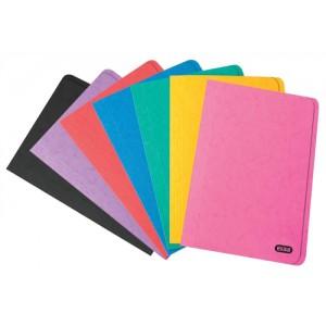Elba Square Cut Folder Foolscap Pressboard Assorted 50
