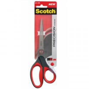 Scotch Precision Scissors Stainless Steel Ambidextrous Comfort Handles 180mm