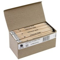 Rxl Office Pencil Hb Rubber Tipped 34252