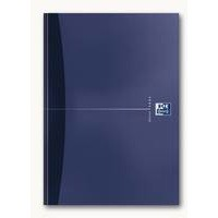Oxford Office Notebook Casebound Hard Cover Ruled 192pp 90gsm A4 Assorted Ref 100105005 [Pack 5]