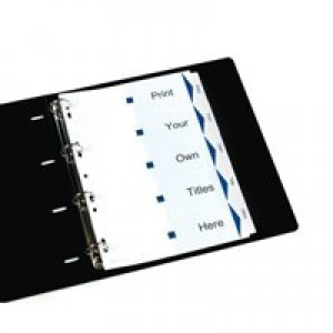 Avery IndexMaker Divider Set Punched 12-Part Ref 01640061.UK