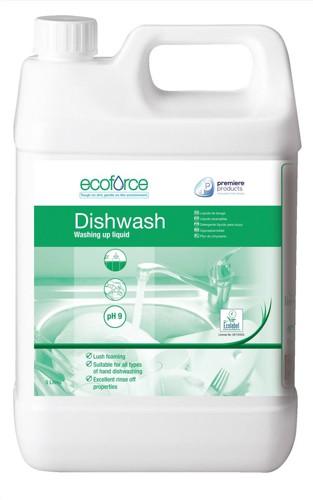Ecoforce Washing Up Liquid 5 Litre Code 11506