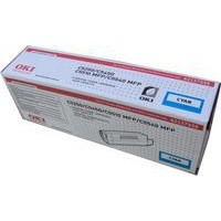 Oki C5250 Toner Cartridge High Yield Cyan 42127456
