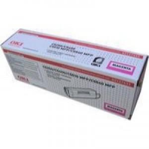 Oki C5250 Toner Cartridge High Yield Magenta 42127455