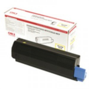 Oki C5250 Toner Cartridge High Yield Yellow 42127454
